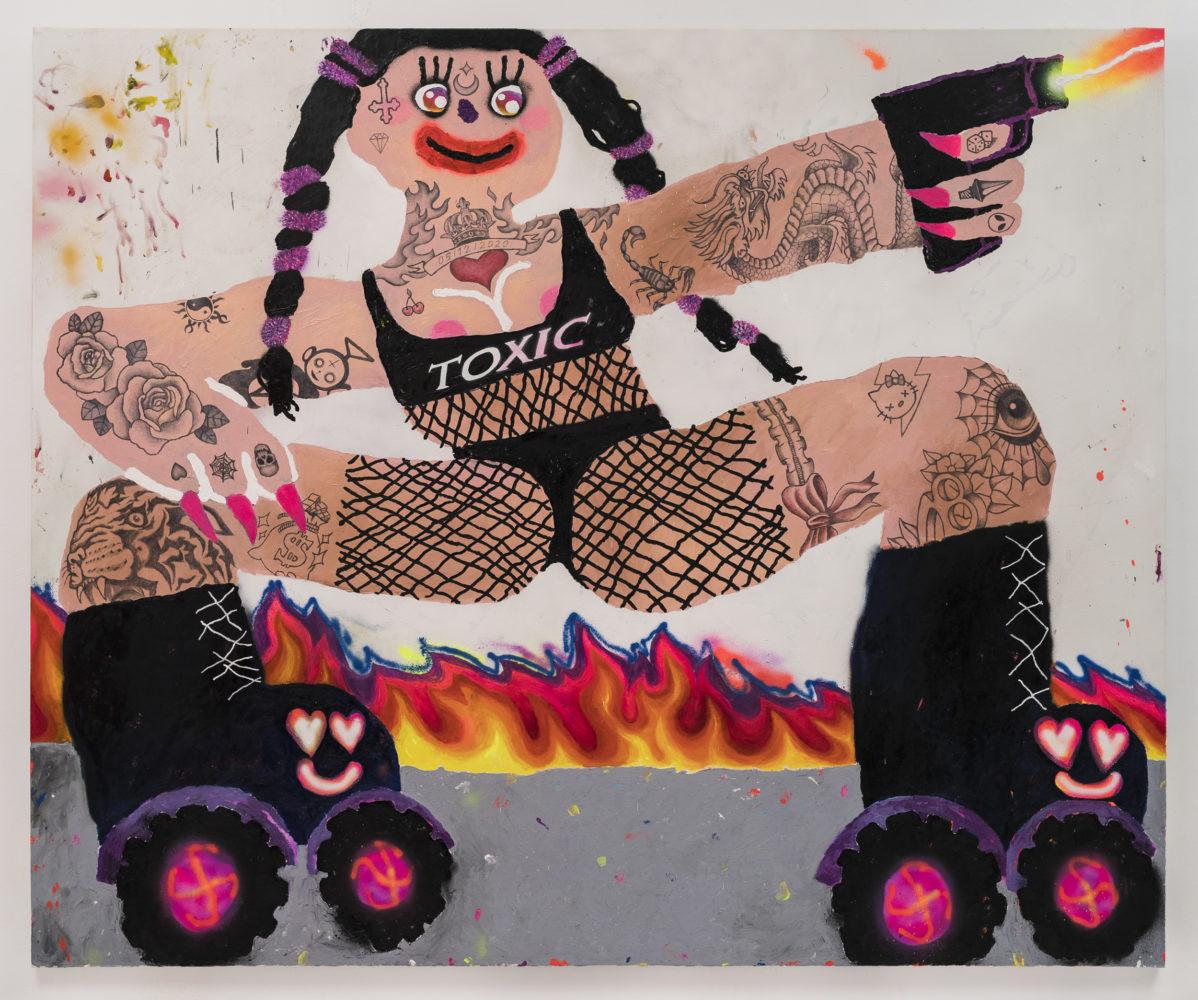 Bel Fullana – toxic roller skater