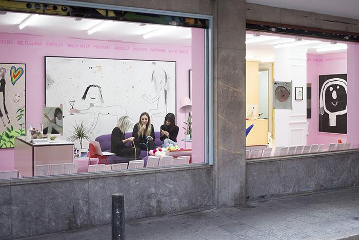Bel Fullana – ROSA DULCE. L21 Gallery. Palma, Spain. 2016