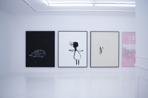 Bel Fullana – LA LUNA ES UNA LÁMPARA QUE BRILLA. L21 Gallery. Palma. Spain. 2014