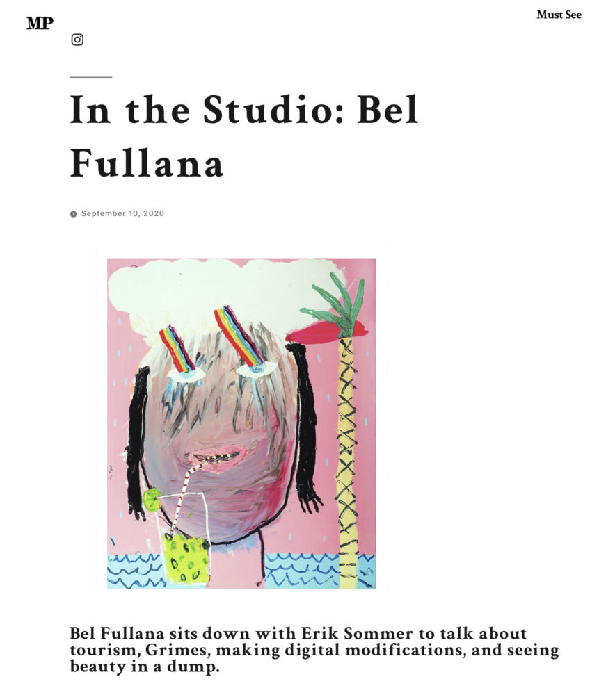 Bel Fullana – mott projects